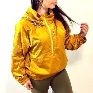 Free People Movement Golden Yellow Pullover
